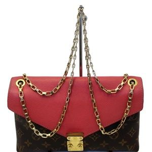 LOUIS VUITTON PALLAS CHAIN MONOGRAM CANVAS